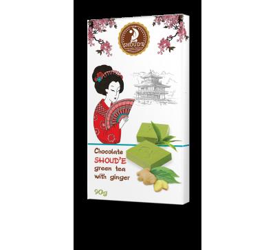 """Шоколад """"Зеленый чай с имбирем"""""""