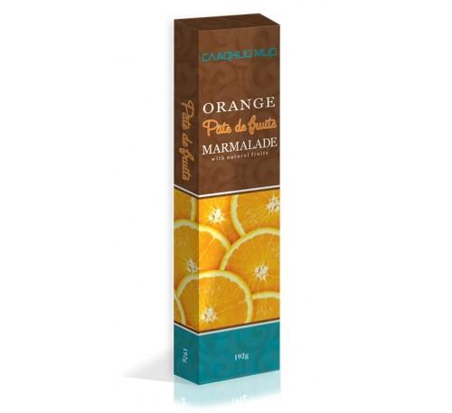 "Натуральный мармелад ""Pate de fruits"" Апельсин"