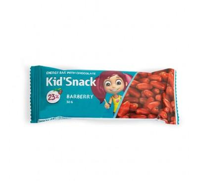 """Энергетический батончик """"Kid'Snack"""" барбарис"""