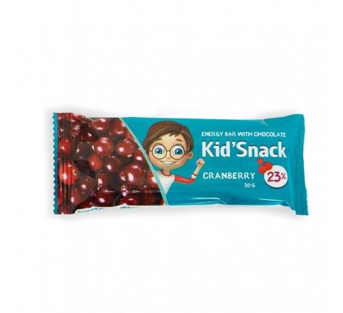 """Энергетический батончик """"Kid'Snack"""" клюква"""