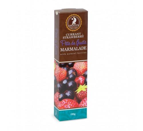 """Натуральный мармелад """"Pate de Fruits"""" смородина-клубника"""