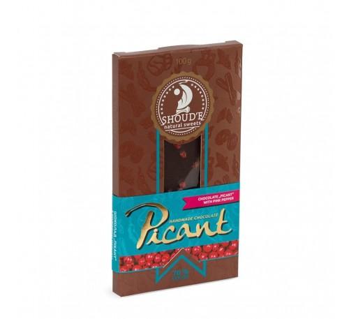 "Шоколад ""Picant"" с розовым перцем"
