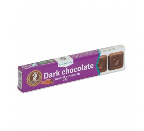"Шоколад черний ""SHOUD'E"" карамель-корица"