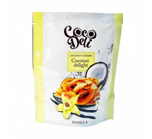 """Кокосовые чипсы """"Ваниль"""", 30 г"""