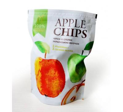 Яблочные чипсы ТМ Sergio, 55 г  БЕЗ САХАРА