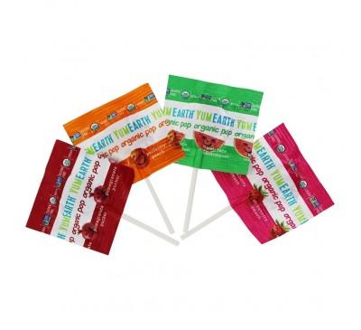 Органические леденцы YumEarth с витамином С