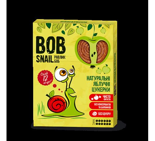 Натуральные яблочные конфеты Bob Snail Равлик Боб, 120 г