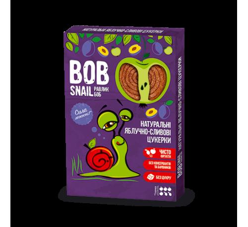 Натуральные яблочно-сливовые конфеты Bob Snail Равлик Боб, 60 г