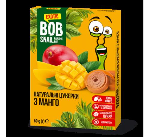 Натуральные конфеты МАНГО Bob Snail Равлик Боб, 60 г