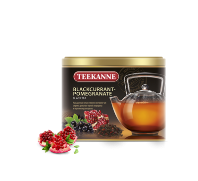 "Чай TEEKANNE ""Blackcurrant-Pomegranate"", 150 г, жесть"