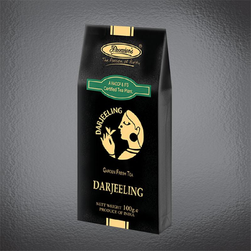 Чай дарджилинг в упаковке